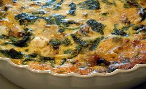 Savoy Spinach Quiche