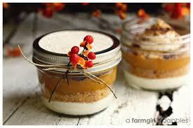 jar pumpkin dessert