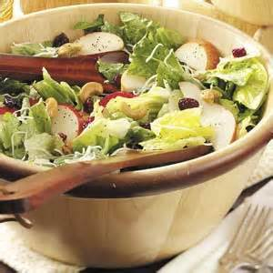 Pear Cashew Salad