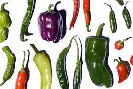 pepper chart