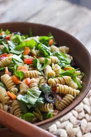creamy balsamic pasta salad