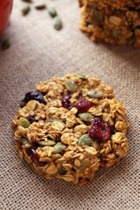 Pumpkin-Cranberry-Breakfast-Cookies