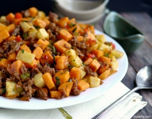 Sausage-and-Sweet-Potato-Hash.-Perfect-for-dinner-or-breakfast-from-Noble