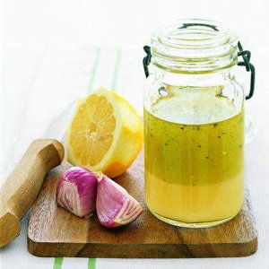 lemon shallot vinegarette