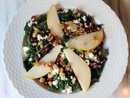 kale pear salad