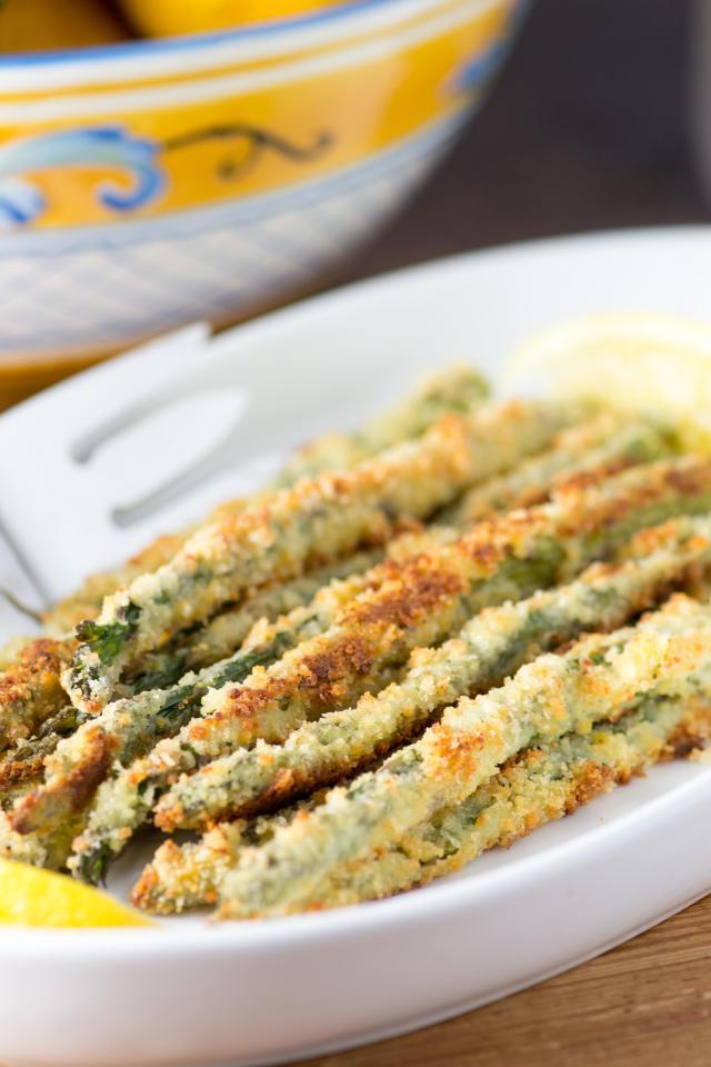 panko asparagus